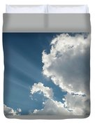 Light Through The Clouds Duvet Cover