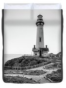 Light Tower Of The Pacific Duvet Cover