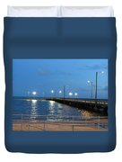 Lighted Pier Duvet Cover