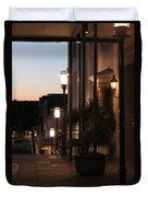 Lighted Walkway Duvet Cover