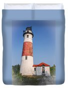 Lighthouse And Entry Duvet Cover