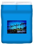 Lighthouse, Blue Lb Duvet Cover