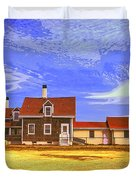 Lighthouse Cape Cod Duvet Cover