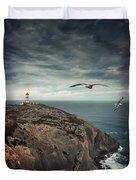 Lighthouse Cliff Duvet Cover