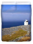 Lighthouse Cliff Duvet Cover