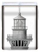 Lighthouse Detail Duvet Cover