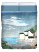 Lighthouse Harbour 2  Duvet Cover