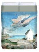 Lighthouse Harbour 3 Duvet Cover