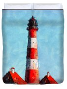 Lighthouse - Id 16217-152045-8706 Duvet Cover