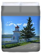 Lighthouse Landscape Four Duvet Cover