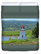 Lighthouse Landscape Three Duvet Cover