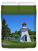 Lighthouse Landscape Two Duvet Cover