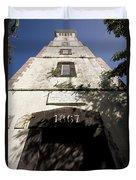 Lighthouse On Point Venus Duvet Cover