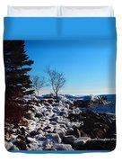Lighthouse Point Duvet Cover