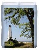 Lighthouse Summer Duvet Cover