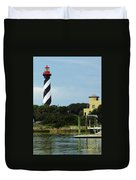 Lighthouse Water View Duvet Cover