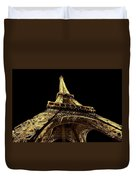 Lighting The World Of Paris Duvet Cover