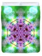 Lightmandala 6 Star 3 Duvet Cover