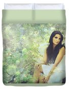 Lightness Duvet Cover by Laurie Search