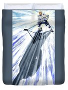 Lightning And Shadow Duvet Cover