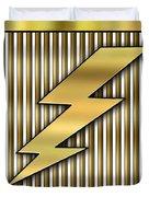 Lightning Bolt Duvet Cover