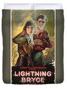 Lightning Bryce 1919 Duvet Cover