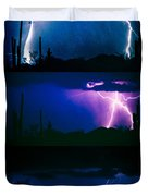 Lightning Storm Progression Duvet Cover