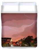Lightning Strike Duvet Cover