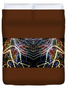 Lightpainting Panorama Print Photograph 3 Duvet Cover