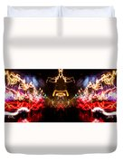 Lightpainting Panorama Print Photograph 6 Duvet Cover