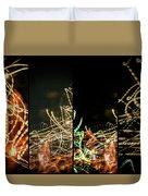 Lightpainting Quads Art Print Photograph 5 Duvet Cover