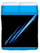 Electric Neon Three Duvet Cover