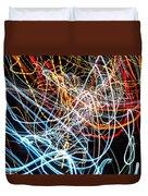 Lightpainting Single Wall Art Print Photograph 9 Duvet Cover