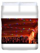 Lights At Christmas Duvet Cover