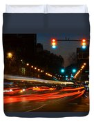 Lights Of The City Duvet Cover