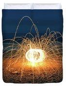 Lighty Fireworks Duvet Cover