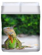 Lil Iguana Duvet Cover