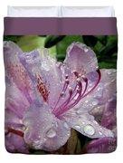 Lilac Azalea Duvet Cover