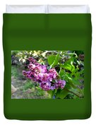 Lilac Branch Duvet Cover