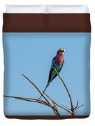 Lilac Breasted Roller 5 Duvet Cover