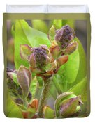 Lilac Buds Duvet Cover