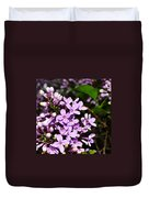 Lilac Bush In Spring Duvet Cover