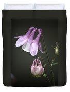 Lilac Columbine 3 Duvet Cover