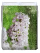 Lilac Dreams - Digital Watercolor Duvet Cover
