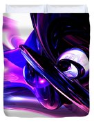 Lilac Fantasy Abstract Duvet Cover
