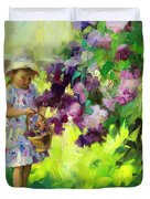 Lilac Festival Duvet Cover