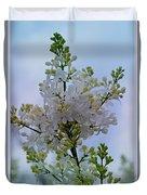 Lilac Flowers Duvet Cover