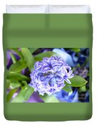 Lilac In Bloom Duvet Cover