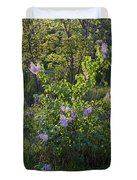 Lilac In Sunshine Duvet Cover
