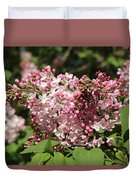 Lilac Pink Duvet Cover